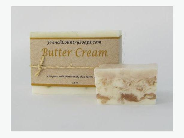 Soap - Handmade & All natural - Butter Cream guest size bar