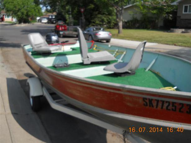 Nice little fishing boat price reduced north regina regina for Nice fishing boats