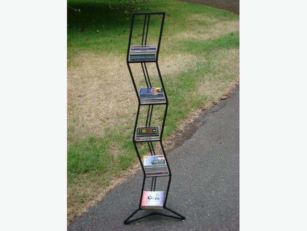 Wrought Iron CD/DVD Rack