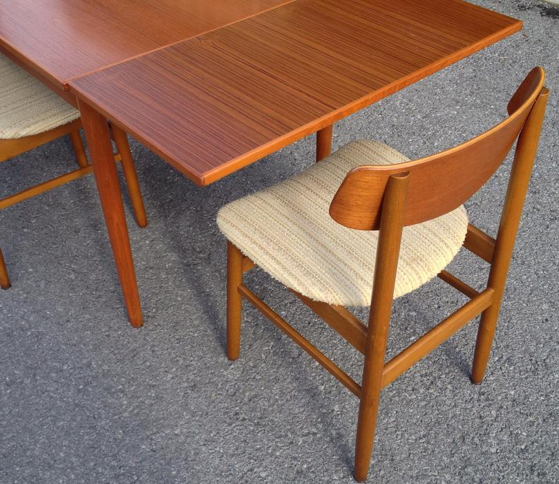 Mid century Farstrup teak dining table with 4 chairs  : 39910212934 from www.usedottawa.com size 809 x 700 jpeg 123kB