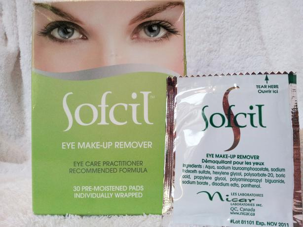 U0026quot;SOFCILu0026quot; EYE MAKEUP REMOVER PADS! HIGHLY-RATED HARD TO FIND! Victoria City Victoria