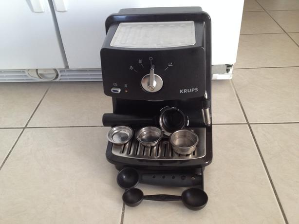 krups pumo espresso maker xp4000 orleans ottawa. Black Bedroom Furniture Sets. Home Design Ideas
