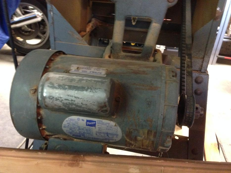 Table saw delta 10 2 hp motor big cast iron works for 10 table saw motor