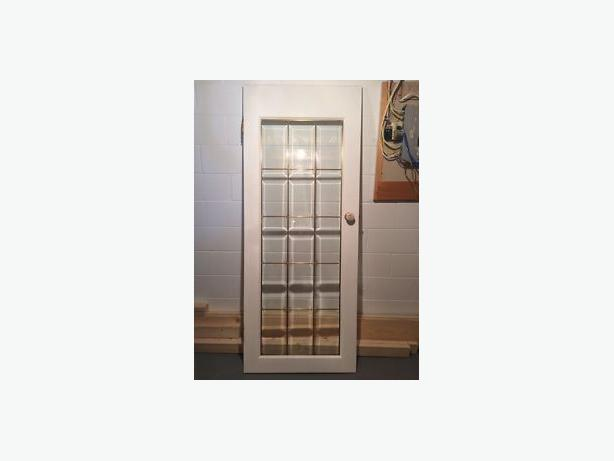 Interior White French Glass Panel Door Lake Cowichan Cowichan