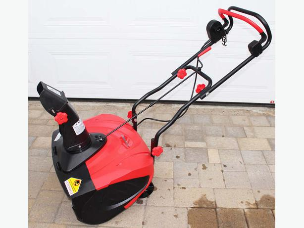Best Small Electric Snow Blower : Sylvania electric snowthrower snowblower gatineau sector