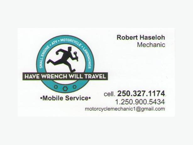 Have Wrench Will Travel Mobile Mechanic Services