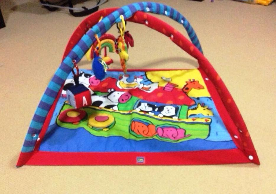 New Tiny Love Gymini Deluxe 3-D Activity Baby Gym Play Mat ...
