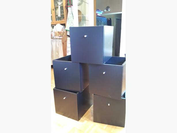 Ikea Trones Schuhschrank Gebraucht ~ Five single drawer inserts for IKEA Expedit Kallax bookshelves