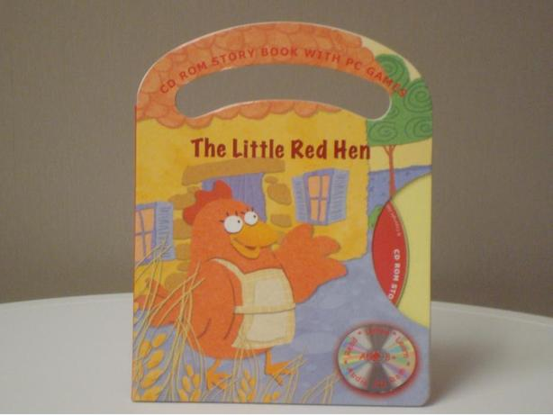 The Little Red Hen Book & Interactive CD Games