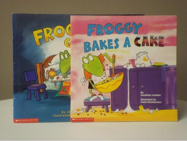 Froggy Books - Set of 2