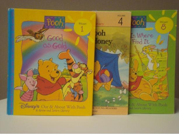 Winnie-The-Pooh - Set of 3 Hardcovers
