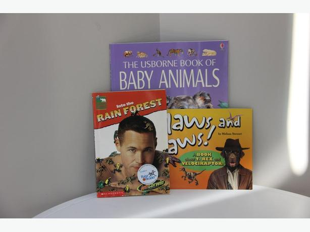 Animal Books - Set of 3