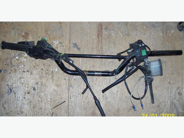 Arctic Cat ZR600 ZR500 T Cat  ZL ZRT handlebars controls brake master cylinder
