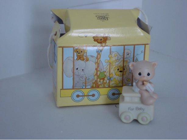"Precious Moments ""For Baby"" Figure - Birthday Train Series"