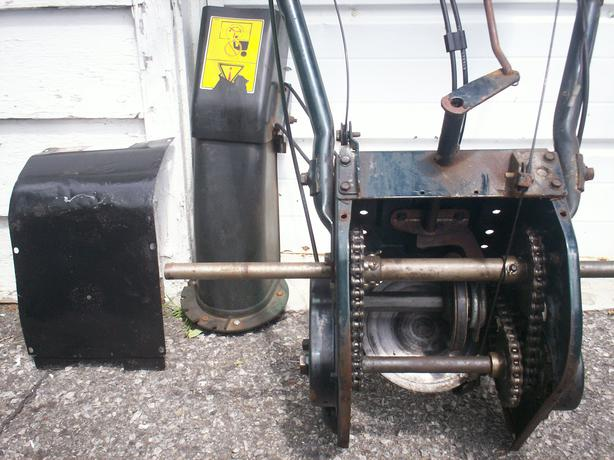 Yardworks Snowblower Rear Assembly