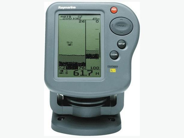 Raymarine l265 fish finder north nanaimo parksville for Used fish finders