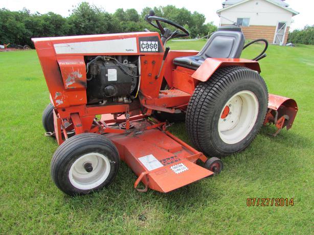 Case 446 Garden Tractor : Reduced case garden tractor north regina