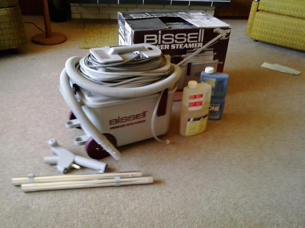 Power Steamers For Cleaning ~ Bissell power steamer model c saanich victoria