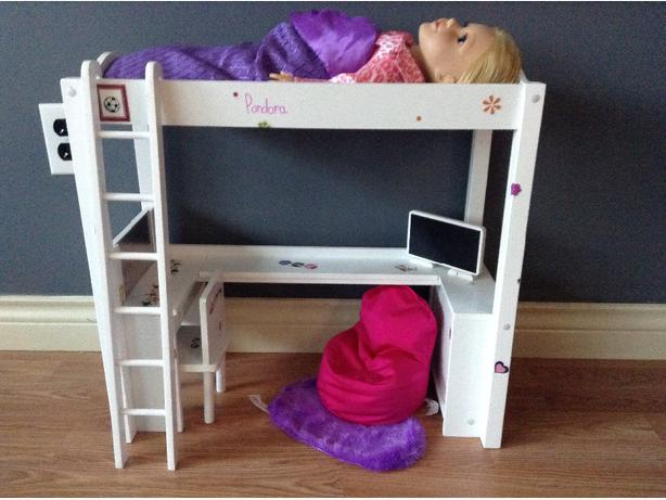 journey bunk bed accesories doll with pj s
