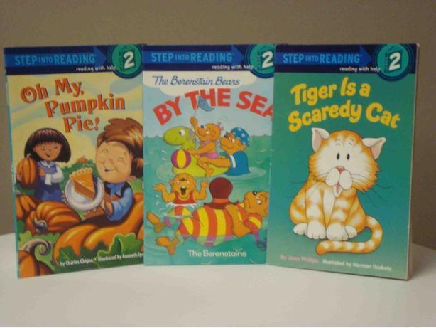 Step into Reading: Step 2 (Reading with Help) - Set of 3