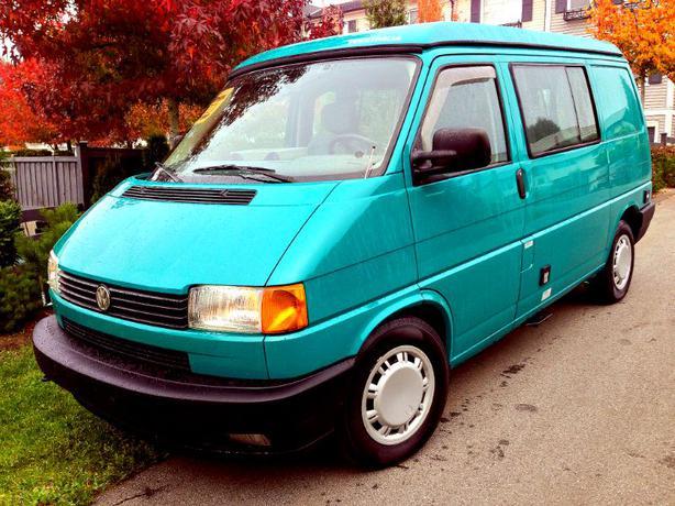 1995 Volkswagen Eurovan Westfalia Camper Outside Nanaimo