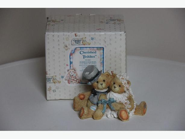 Cherished Teddies ?Robbie & Rachel? Bride & Groom