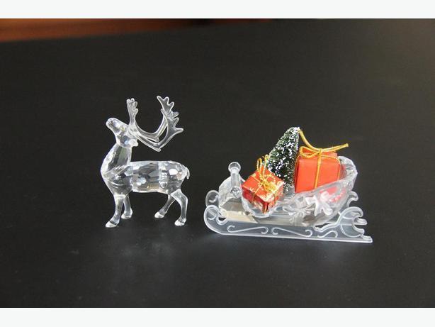 Swarovski Reindeer (214821) & Sleigh (205165)