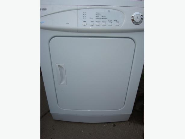 samsung apartment size 24 dryer 220 volt in working condition and