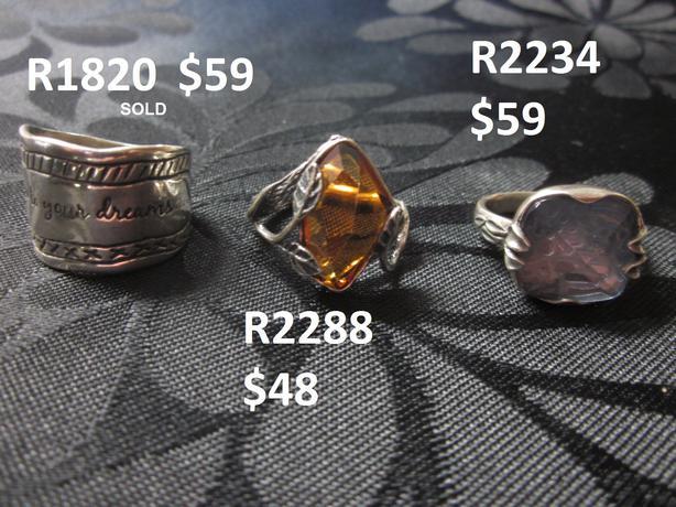 .925 Sterling Silver Silpada jewellery - Rings