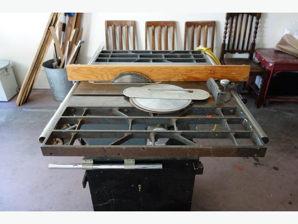 Table Saw Heavy Duty : Craftsman heavy duty table saw saanich victoria