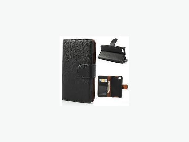 Premium PU Leather Wallet-Style Flip Case for Blackberry Z30