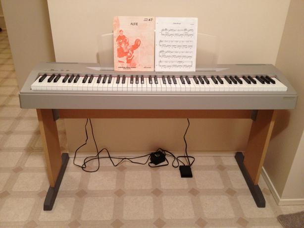 Yamaha full keyboard brand new condition esquimalt for Yamaha piano store winnipeg