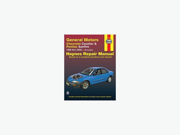 haynes repair manual general motors cavalier and sunfire 2005 Pontiac Sunfire 1997 Pontiac Sunfire