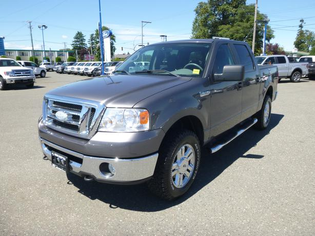 2007 ford f150 xtr 4x4 low kms campbell river courtenay comox. Black Bedroom Furniture Sets. Home Design Ideas