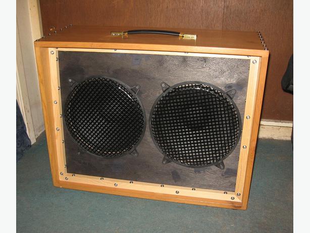 pine 2x12 open back guitar cab with jensen c12k speakers saanich victoria. Black Bedroom Furniture Sets. Home Design Ideas