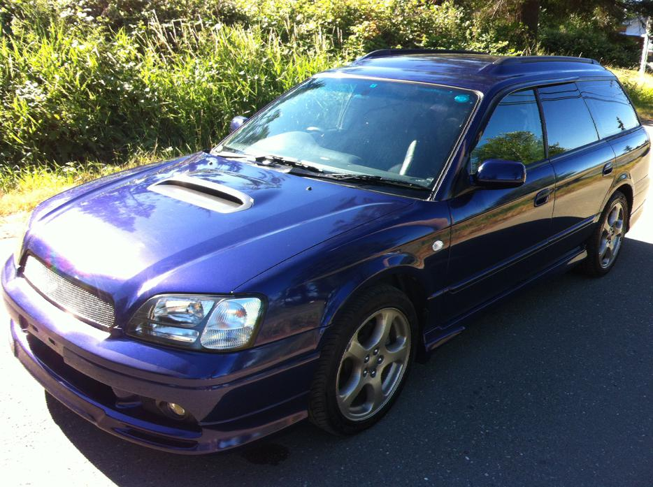 1999 subaru legacy wagon gt twin turbo awd outside metro. Black Bedroom Furniture Sets. Home Design Ideas