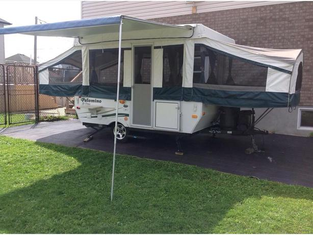 tente roulotte vendre tent trailer for sale gatineau sector quebec gatineau. Black Bedroom Furniture Sets. Home Design Ideas