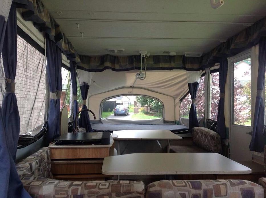 tente roulotte vendre tent trailer for sale gatineau sector quebec gatineau. Black Bedroom Furniture Sets. Home Design Ideas