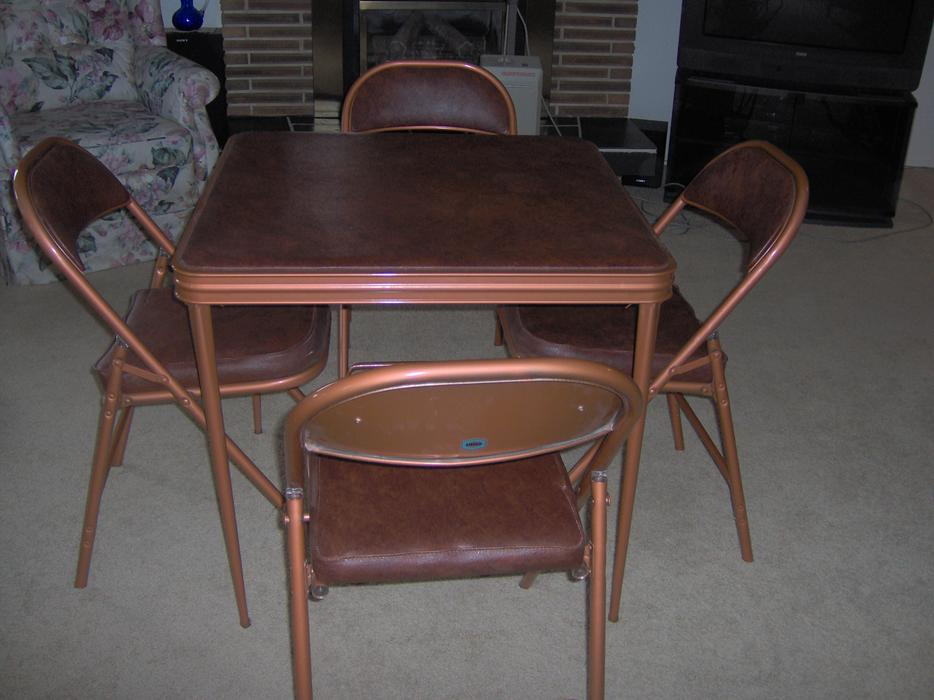 Card Table And Chairs Kelowna Okanagan Mobile