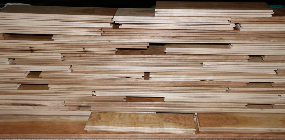"""Cherry Hardwood flooring 3.5"""" boards by 3/4"""" natural ..."""