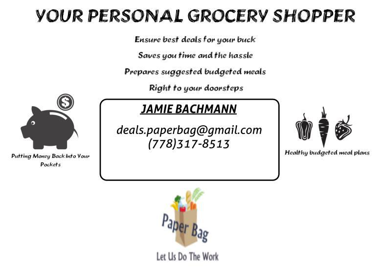 Personal Grocery Shopper Girl Related Keywords & Suggestions