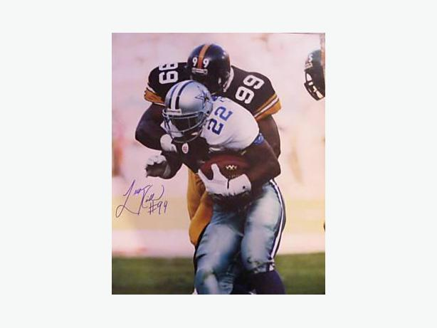 Levon Kirkland Super Bowl XXX Signed Pittsburgh Steelers 16x20