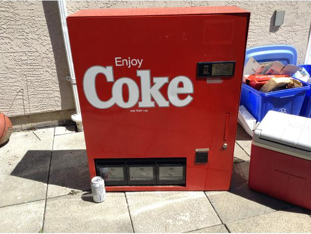 wall mount vending machine
