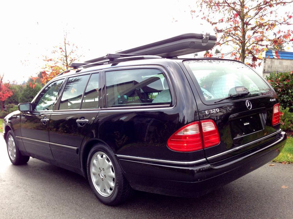 1999 Mercedes Benz E320 Wagon 4matic Outside Victoria