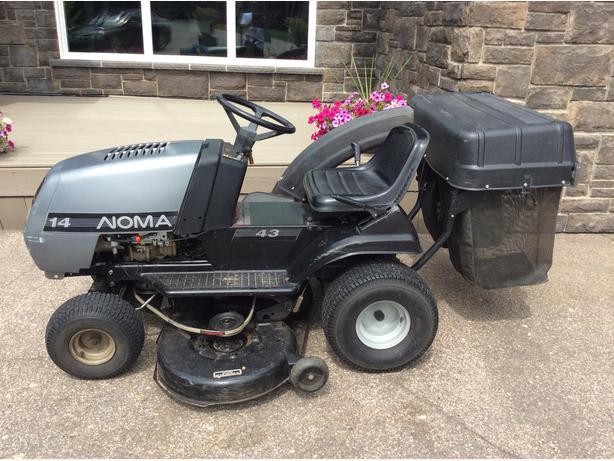 Noma 18 Hp Garden Tractor