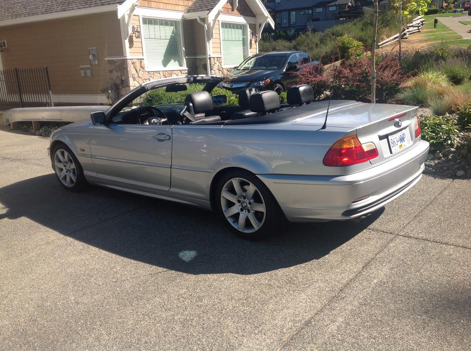 Bmw 325ci Convertible 2001 West Shore Langford Colwood