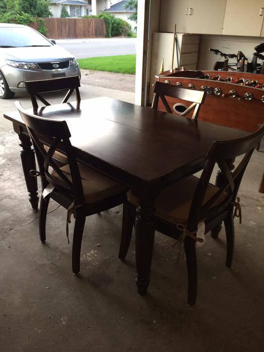 Beautiful Costco bought Dining table amp 6 Chairs East  : 40088965934 from www.usedregina.com size 525 x 700 jpeg 46kB