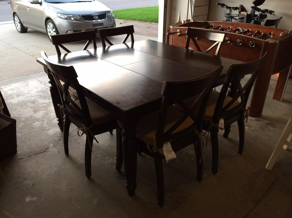 Beautiful Costco bought Dining table amp 6 Chairs East  : 40088975934 from www.usedregina.com size 934 x 700 jpeg 72kB