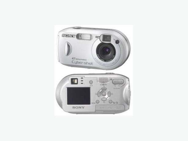 Sony Cyber-shot DSC-P41 Digital Camera with case
