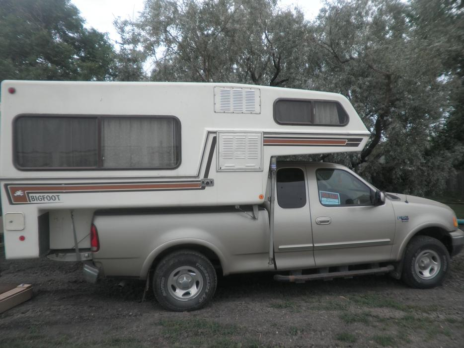 1999 F150 Supercab 4x4 And 1986 9 5 Ft Bigfoot Camper